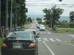 ラベンダー渋滞