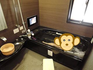 部屋の風呂
